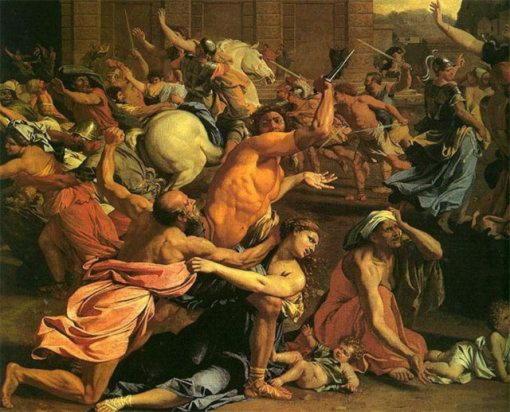 Ромул обеспечил жителей Рима женами