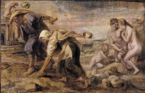 Рубенс, «Девкалион и Пирра»