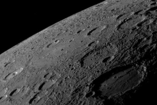 Sholem Aleichem crater Mercury