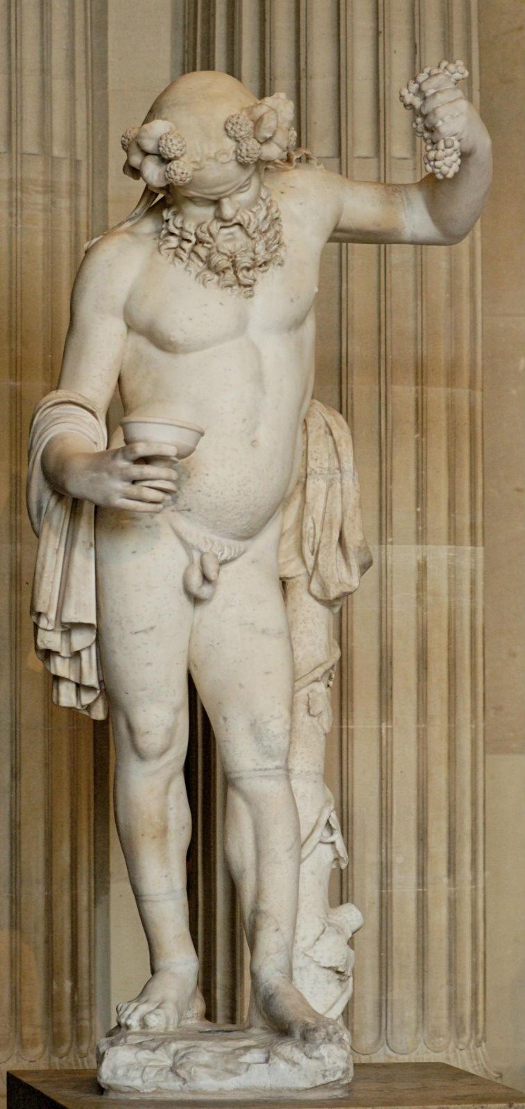 скульптура Пьяный Силен