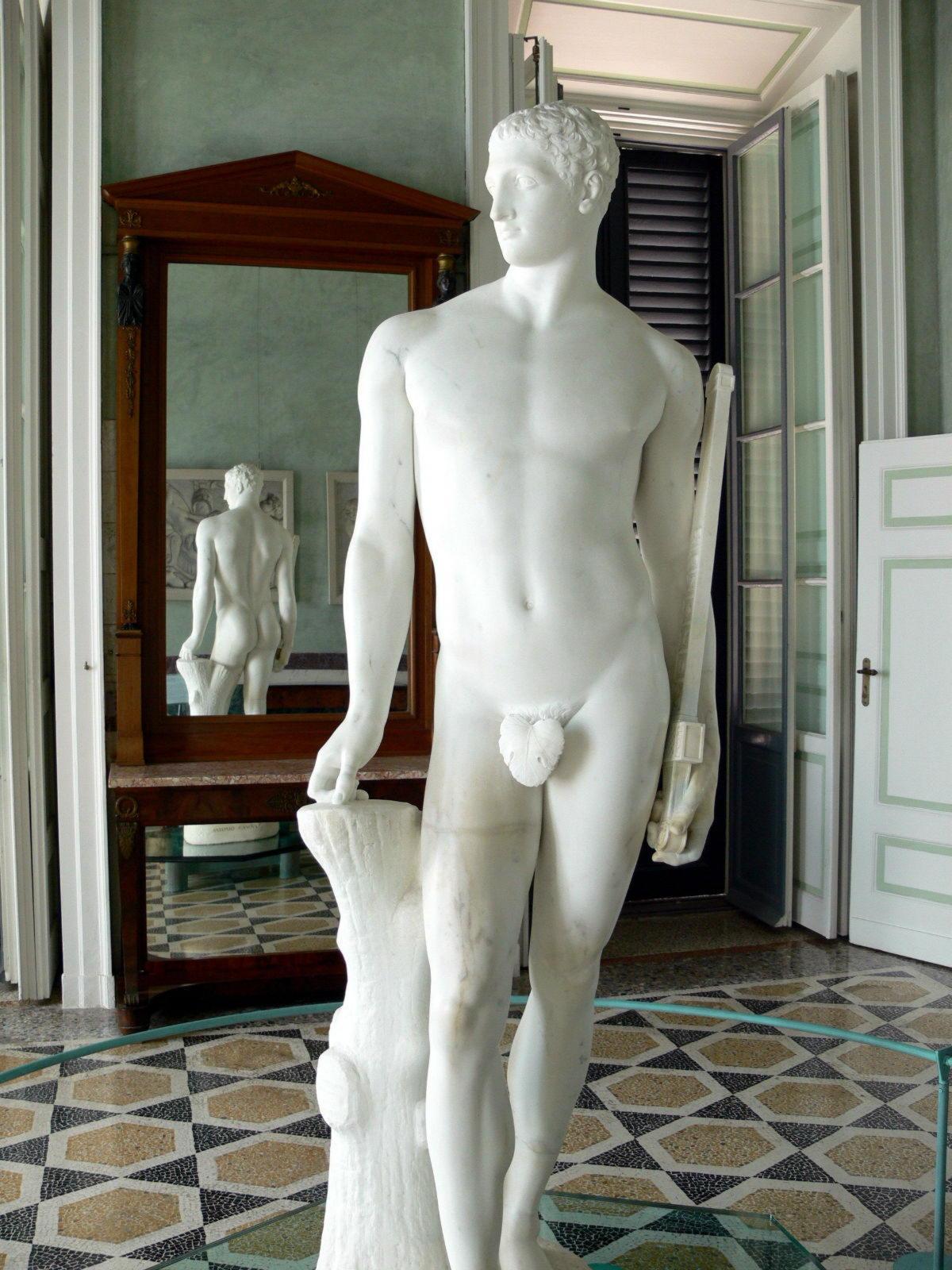 статуя Паломеда