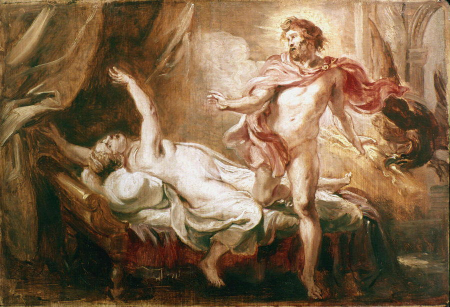 the reasons dionysus punishes cadmus
