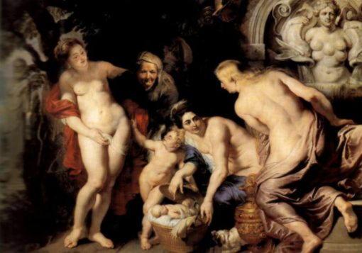 Петер-Пауль-Рубенс--Младенец-Эрихтоний,-или-Любопытство-дочерей-Кекропа
