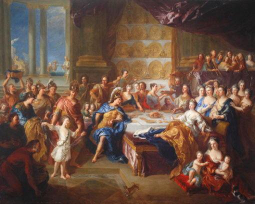 Пир Дидоны и Энея. Франсуа де Труа