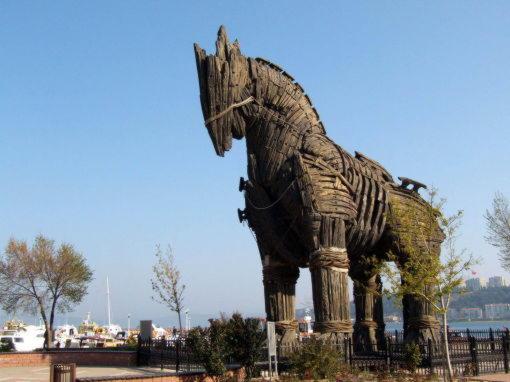 Конь из фильма Троя
