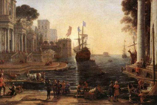 Возвращение Одиссея на родину Клод Лоррен