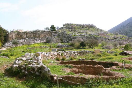 Микенский_акрополь,_Греция