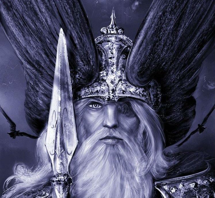 Один (или Вотан), верховный бог в германо-скандинавской мифологии.