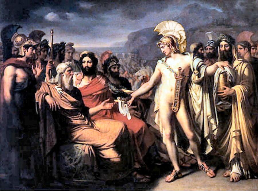 Нестор, греч. — сын царя Нелея и его супруги Хлориды, царь Пилоса.