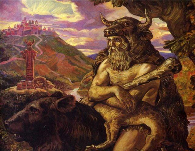 Велес- славянский покровитель скота