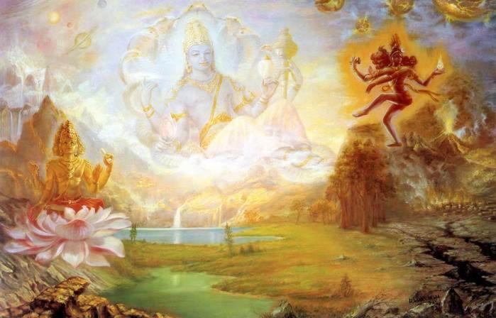 Мифы Индии. Сотворение мира Брахмой