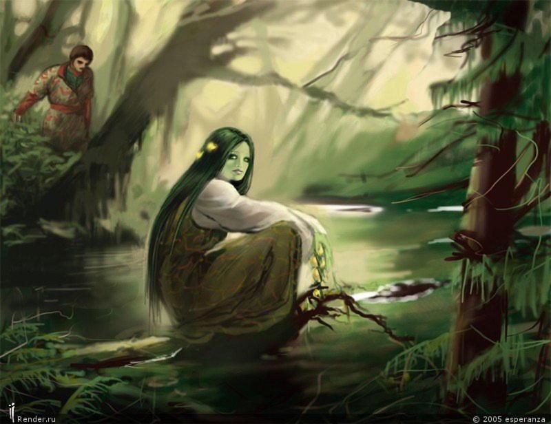 Мавка-злой дух в славянской мифологии