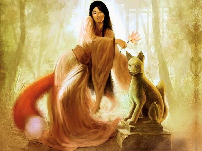 Инари- японская богиня плодородия