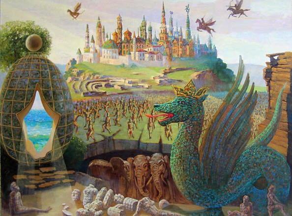 Существа из татарских легенд