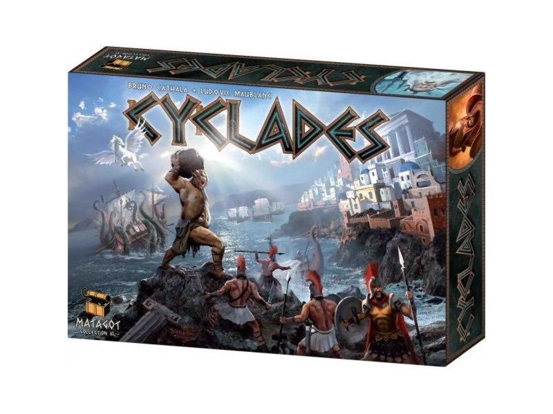 Обзор настольной игры Cyclades (Киклады)