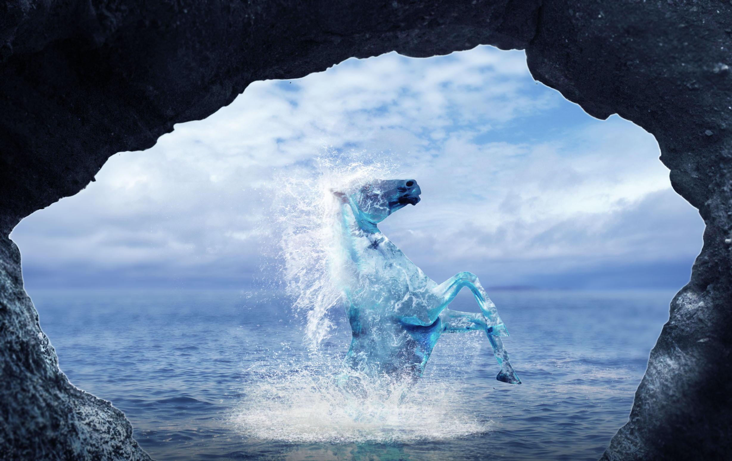 Келпи-водяные духи Шотландии