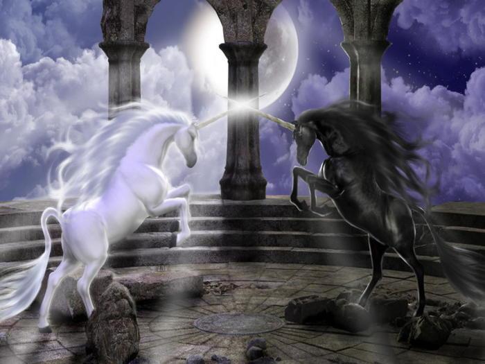 Единороги — волшебные существа в мифах народов