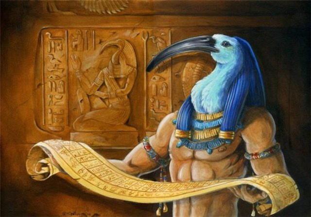 Тот — египетский бог мудрости