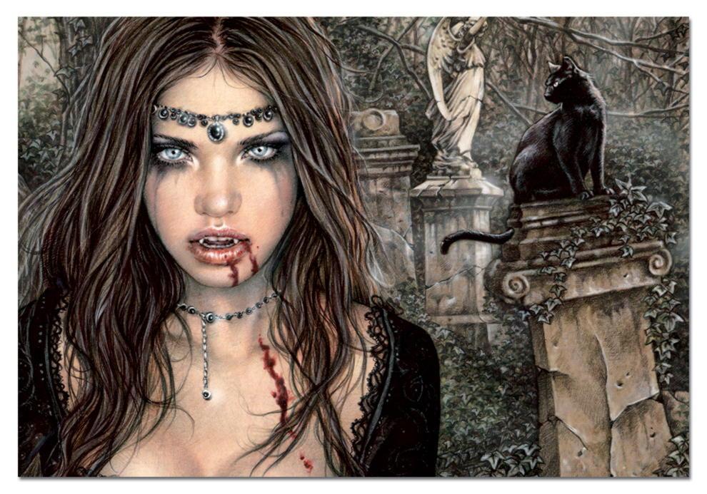 Вампиры с древних времен и до наших дней