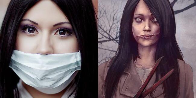 Кутисакэ-онна — женщина с разрезанным ртом