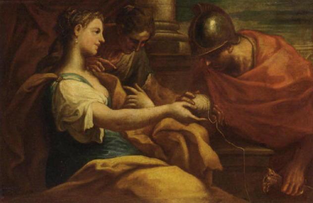 Тесей — великий герой, победитель минотавра. ч.4