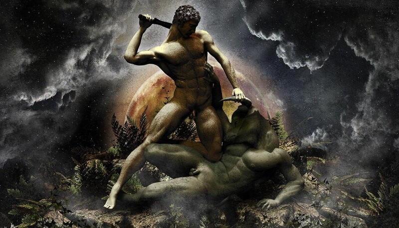 Тесей — великий герой, победитель минотавра. ч.1