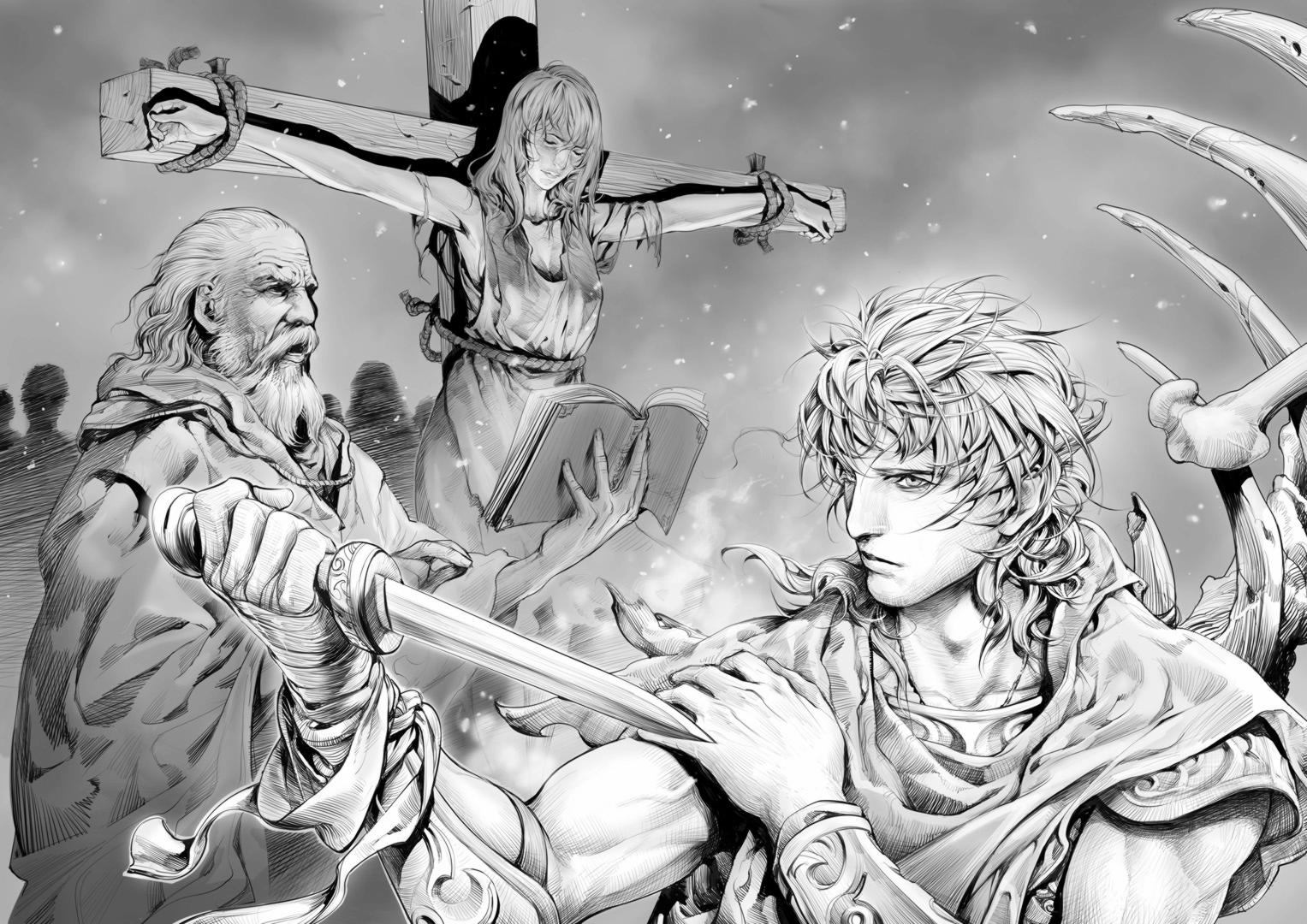 illus_for_novel___immortal_man___by_zhoupeng-d32ni4m