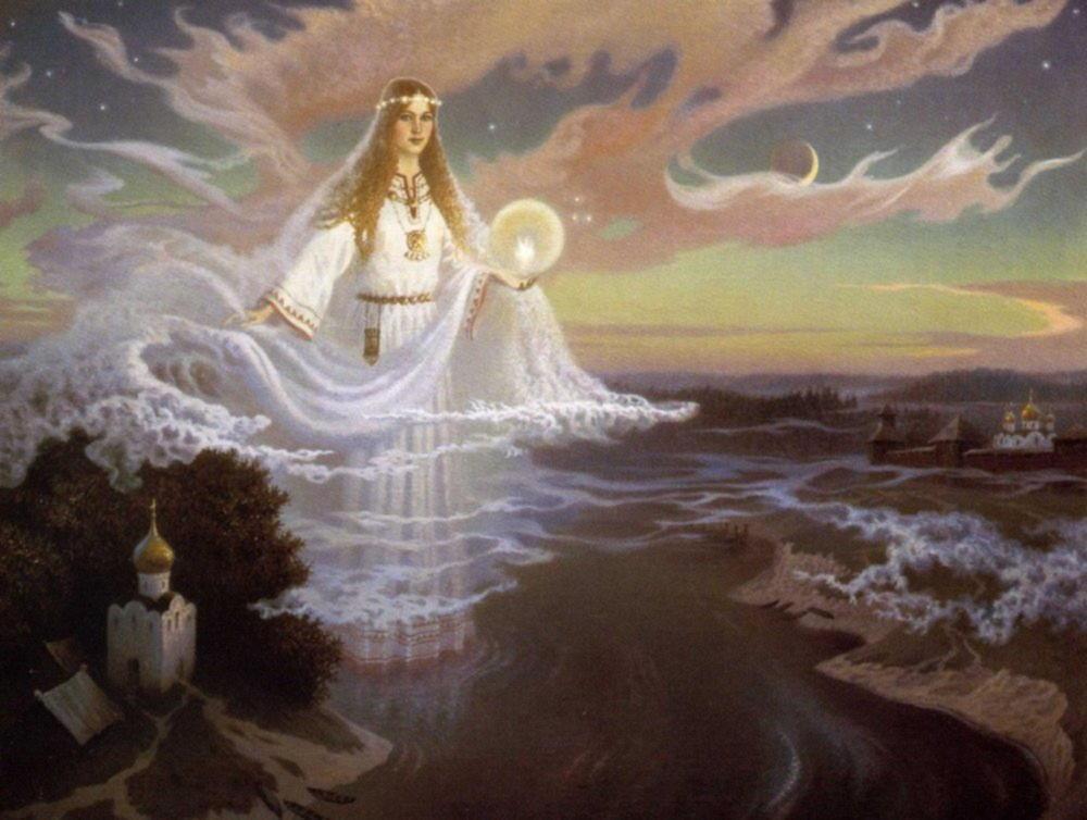 Славянские боги и богини красивые картинки