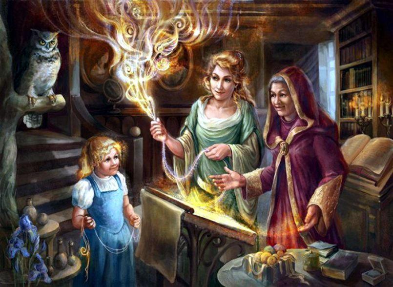 Разновидности ведьм