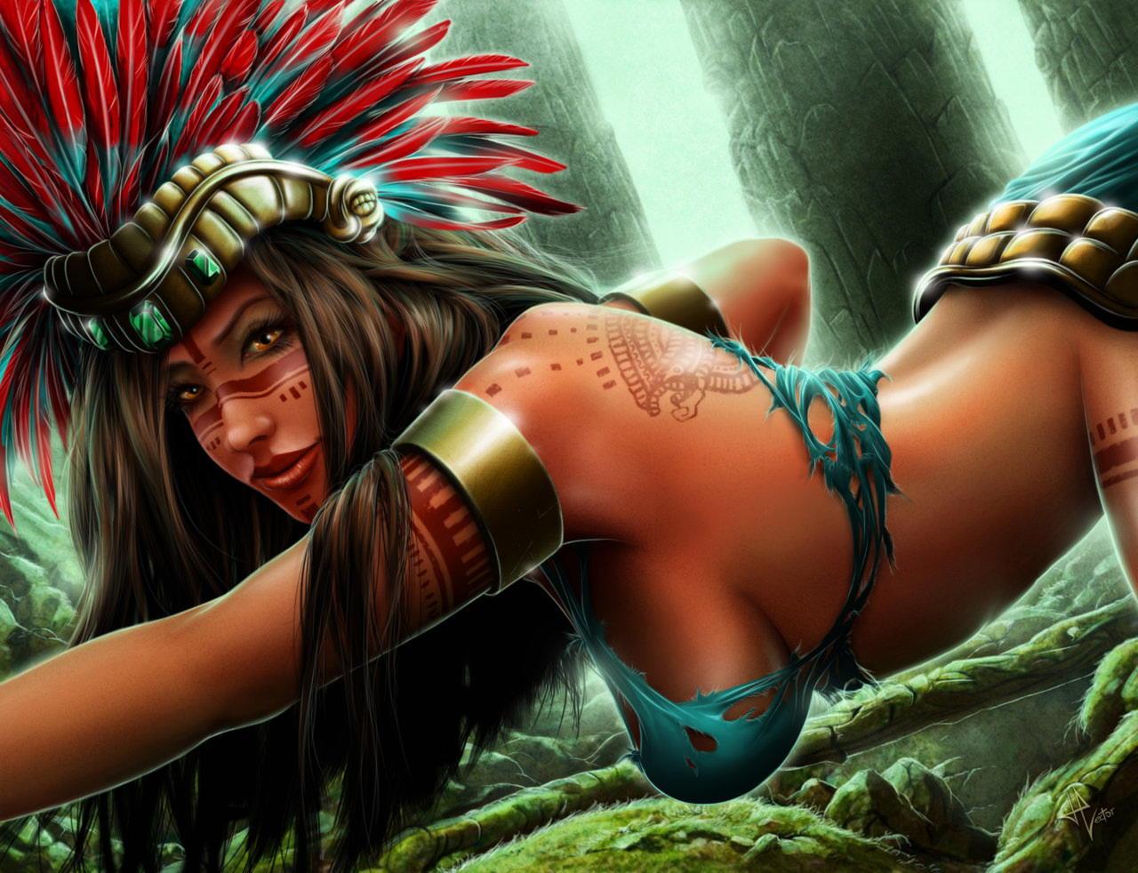 Шочикецаль — богиня ацтекской мифологии
