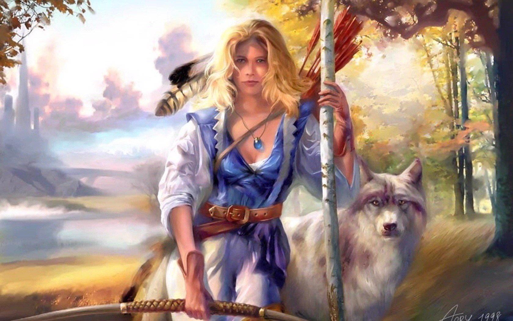 Дивия и Див, славянские боги, символизирующие день и ночь