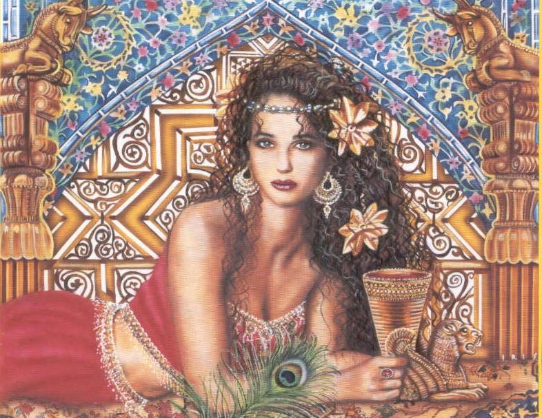 «Вавилонская блудница» Иштар