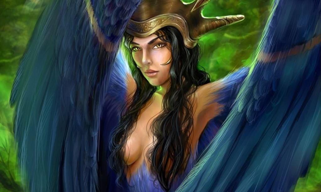 Стратим-птица из славянской мифологии