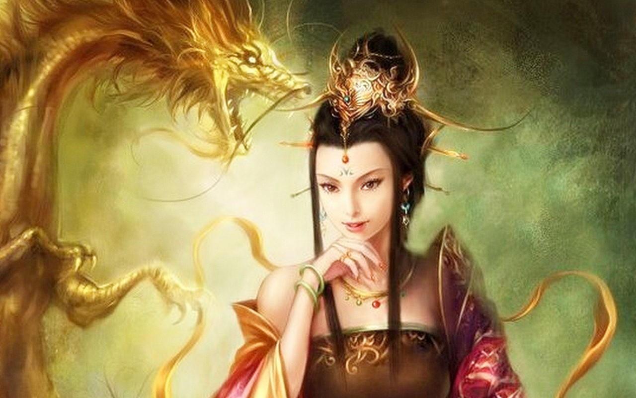 Китайская легенда о четырех драконах