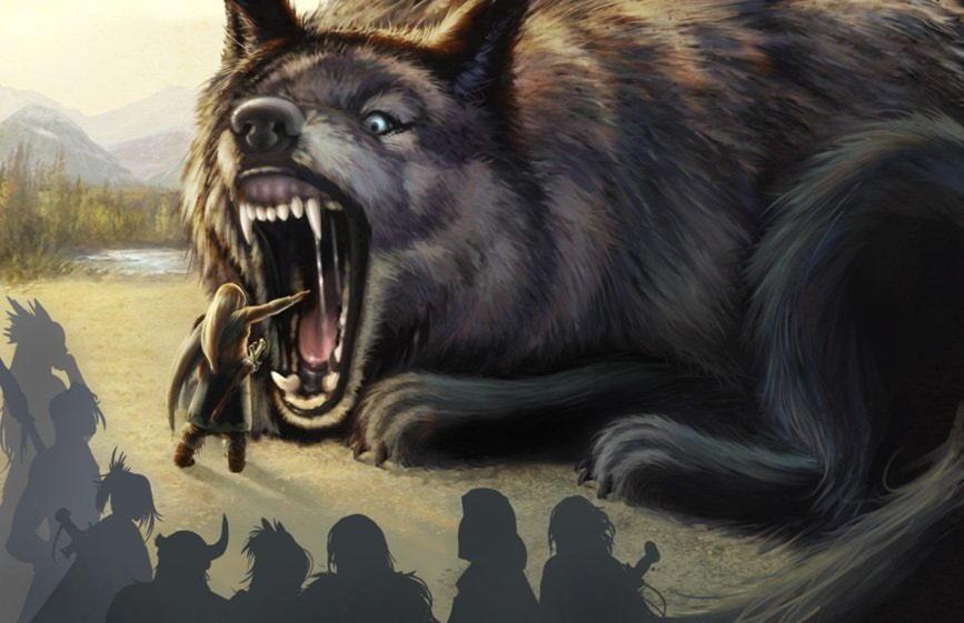 Великий Волк Фенрир