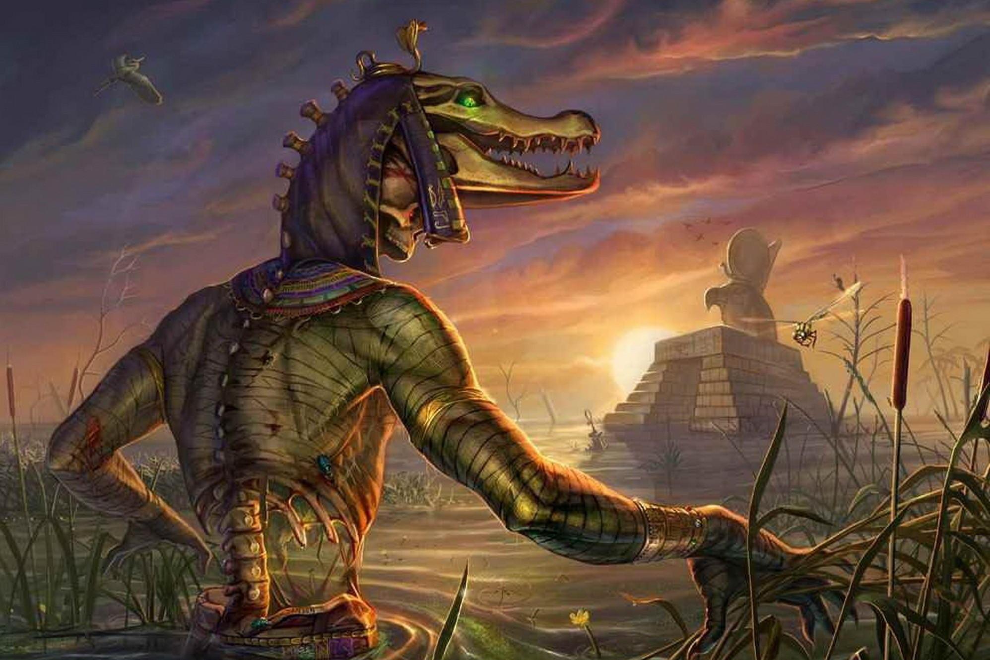 Себек — Египетский бог воды
