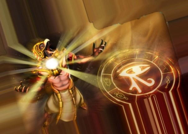 Ра — бог солнца в Древнем Египте