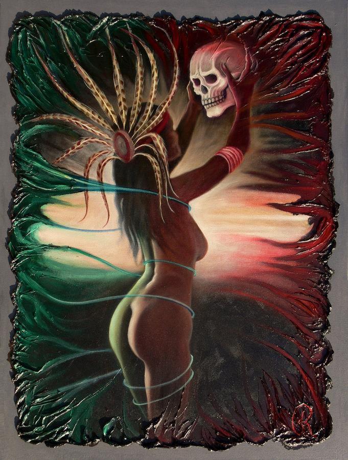aztec-woman-3-galeria-rossmore
