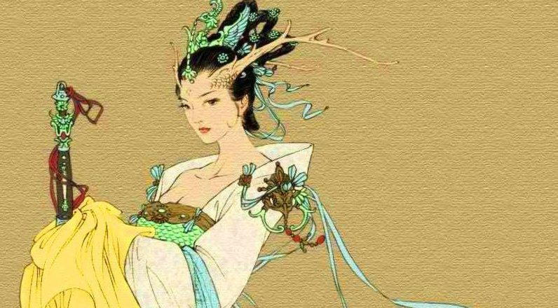 Китайские божества — Нюйва и Фу си