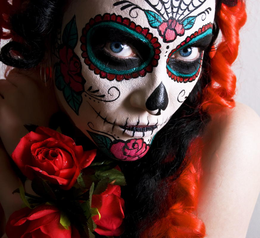 beautiful-beauty-dana-blue-deviant-art-deviantart-dia-de-los-muertos-Favim.com-105969