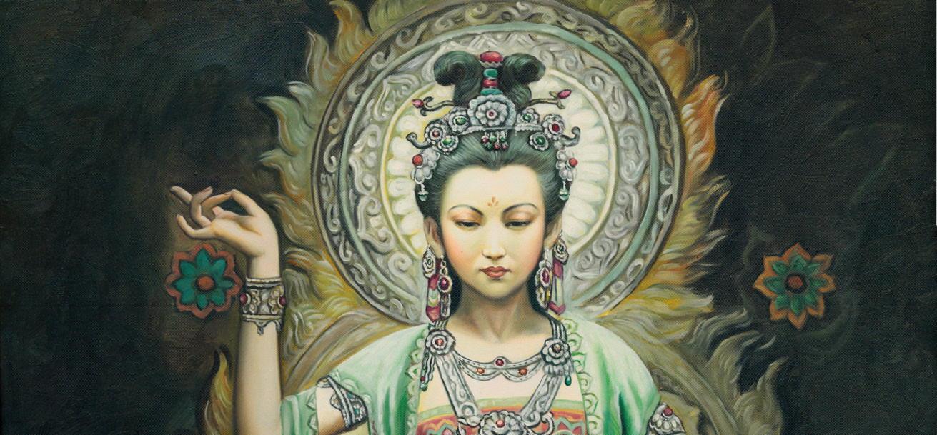 Гуаньинь — китайская богиня милосердия