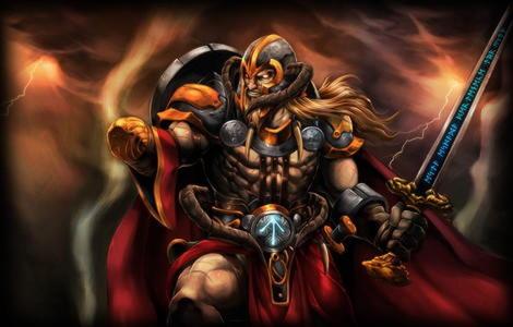 Тюр — скандинавский бог войны