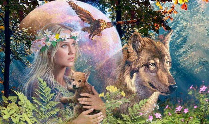 Леля — славянская богиня весны