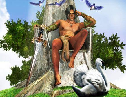 Энгус — бог любви в ирландской мифологии
