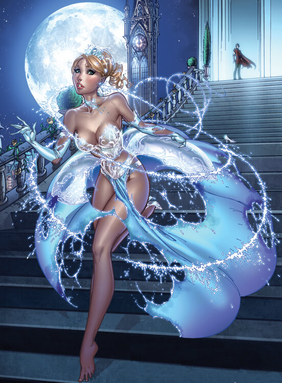 __cinderella___from_fairy_tale_fantasies_2012_by_j_scott_campbell-d4iyj9p