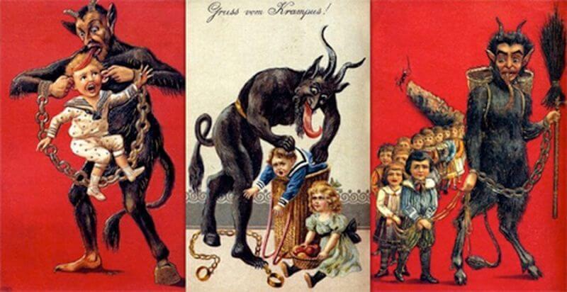 Крампус — демон Рождества