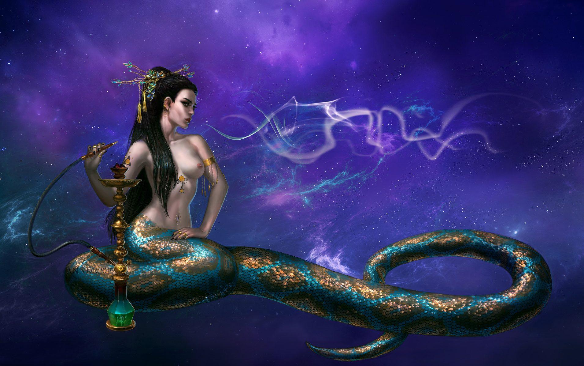 Наги- полулюди-полузмеи в индуистской мифологии