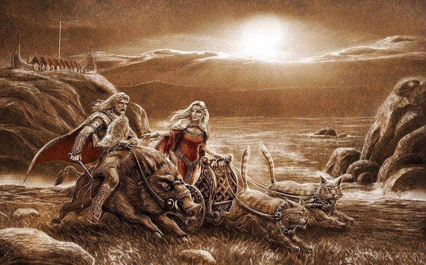 Фрейр — бог солнца в скандинавской мифологии