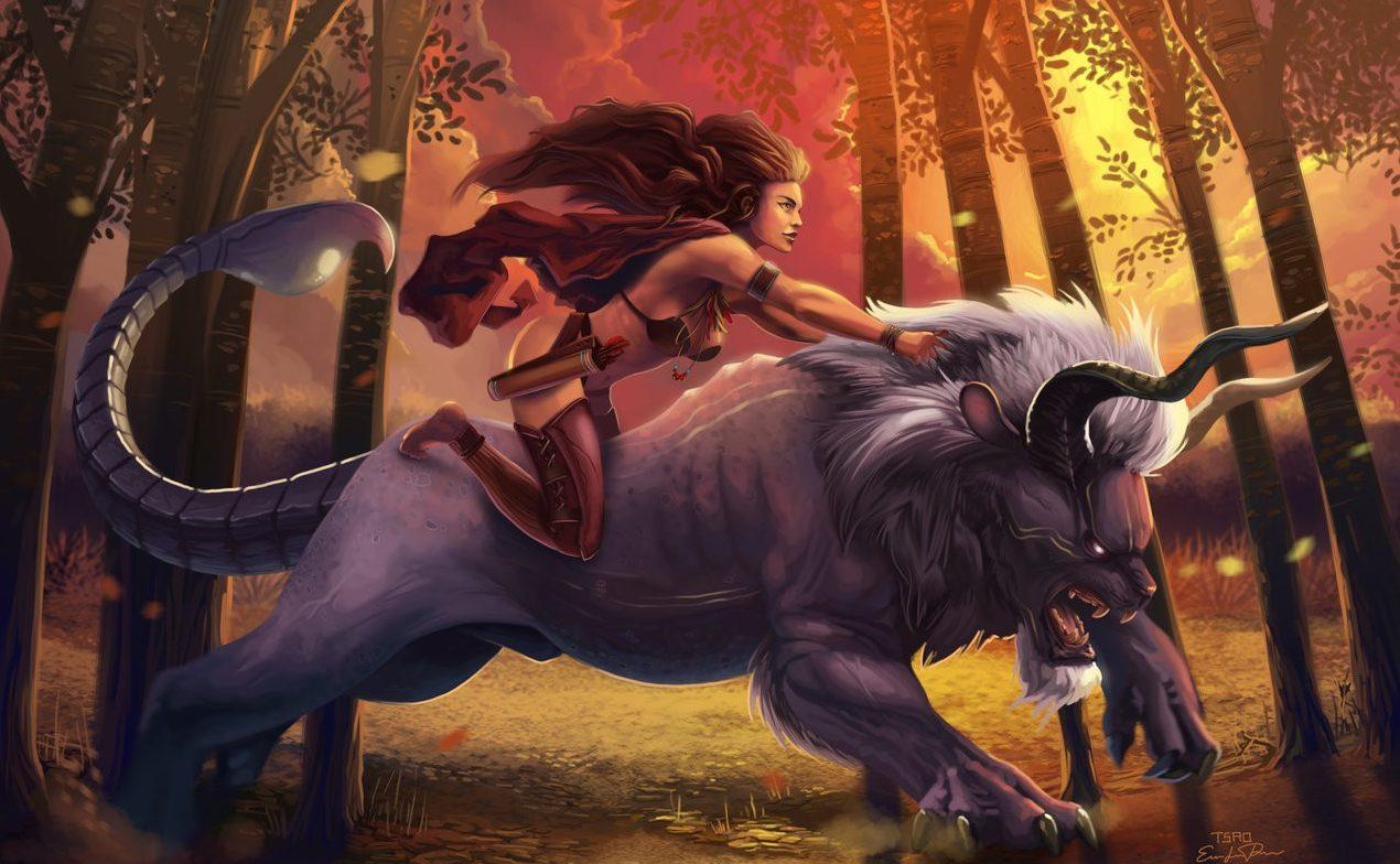 Мантикора — существо из мифов и легенд