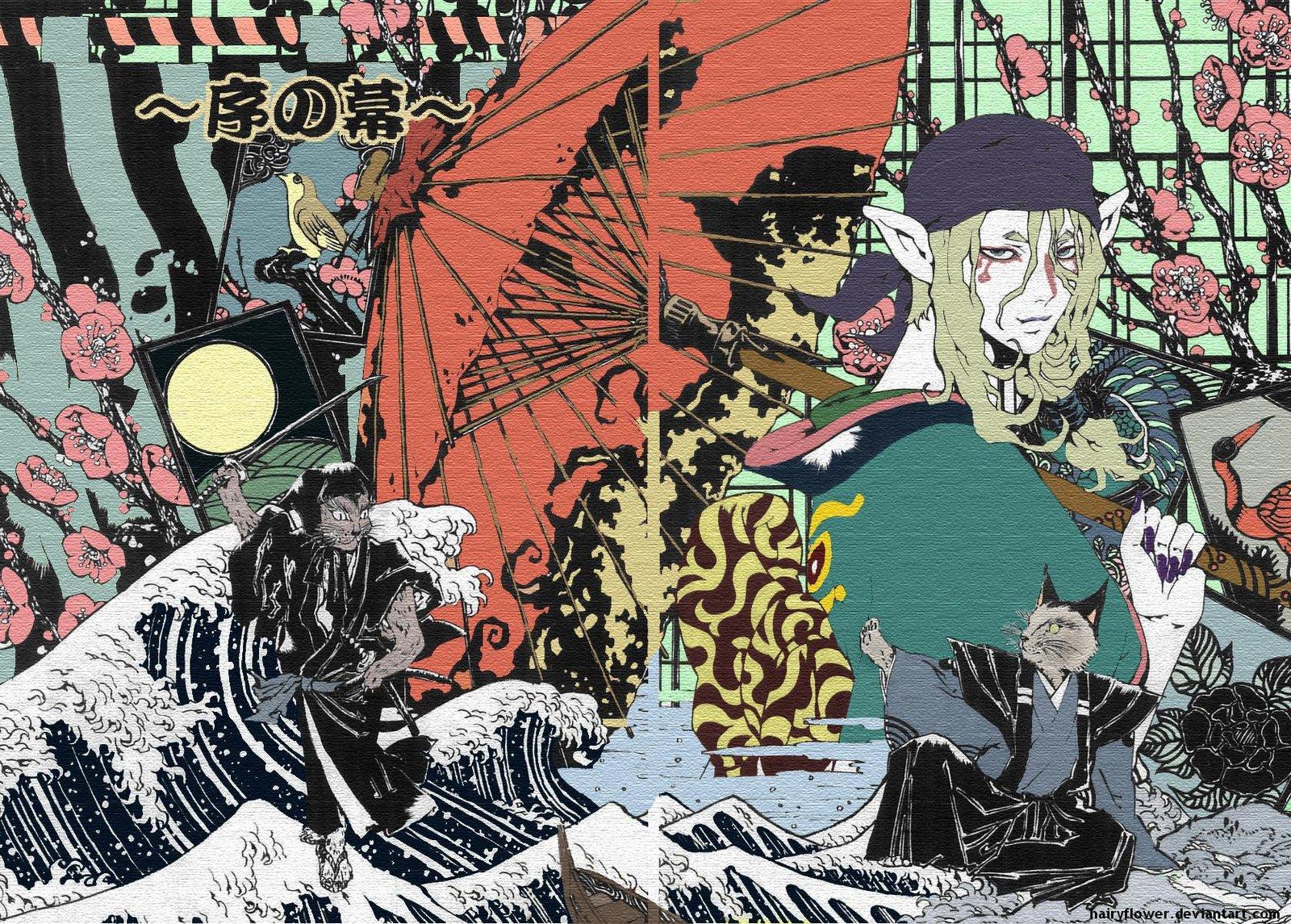 Чудовища и существа Японии. Мононокэ, аякаси